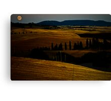 Tuscan Moon Canvas Print
