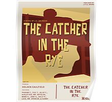 Catcher In The Rye - Vintage Movie Poster Style Poster