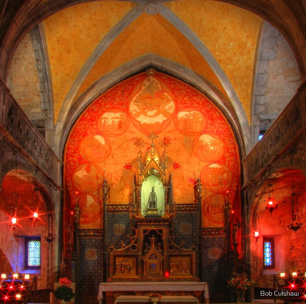 Rocamadour, France, La Chapelle Notre Dame by Bob Culshaw