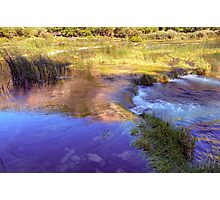 """River Krka's Waterfalls """"The Necklace"""" Photographic Print"""
