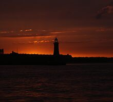Tynemouth Sunset by Adam Gregg