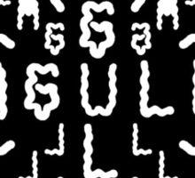 EAGULLS Sticker