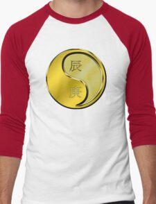 Dragon Yang Metal Men's Baseball ¾ T-Shirt