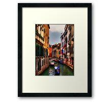 Ah, Venezia! Framed Print
