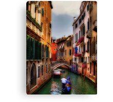 Ah, Venezia! Canvas Print