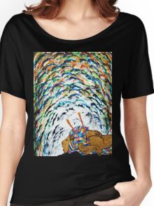 Death of a Rainbow Lion Women's Relaxed Fit T-Shirt