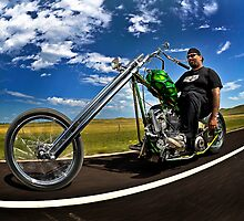 Cycle Source Chris Rollin In Sturgis by Jeff Cochran