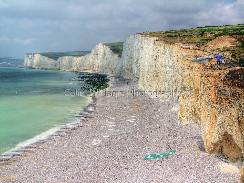 Birling Gap and the Seven Sisters - HDR by Colin  Williams Photography