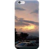 Anger in the clouds iPhone Case/Skin