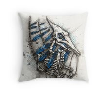 Feathered Pterosaur Throw Pillow