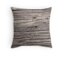 Dock of the Lake Throw Pillow