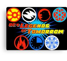 DC's Legends of Tomorrow Icons Canvas Print