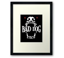Bad Dog Main Logo Framed Print