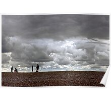 Cley Beach, North Norfolk, UK Poster