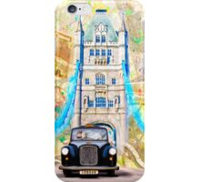 Black London Taxi - Classic British Style iPhone Case/Skin