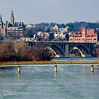 Georgetown, Frozen in January by Paul Bohman