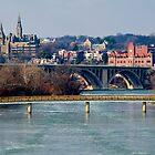 Georgetown, Frozen in January by Paul Bohman
