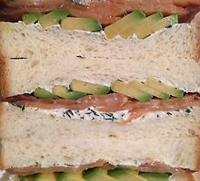Lox & Avocado Sandwich by Lagoldberg28