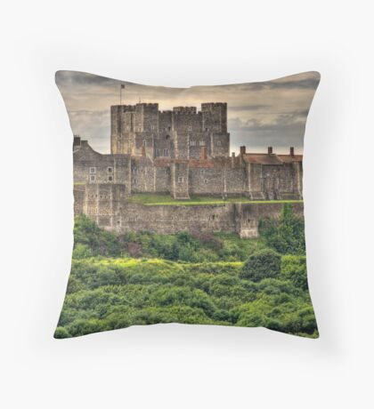 Dover Castle, Dover, Kent, England Throw Pillow