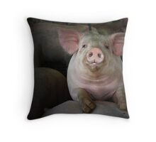 WHAT A HAM! Throw Pillow