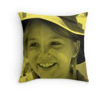 My Littlest Angell Throw Pillow