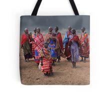 MASAI DANCERS - KENYA Tote Bag