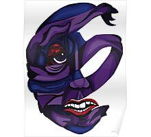 Fibromyalgia Mask Poster