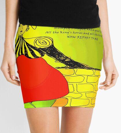 Humpty Dumpty Mini Skirt