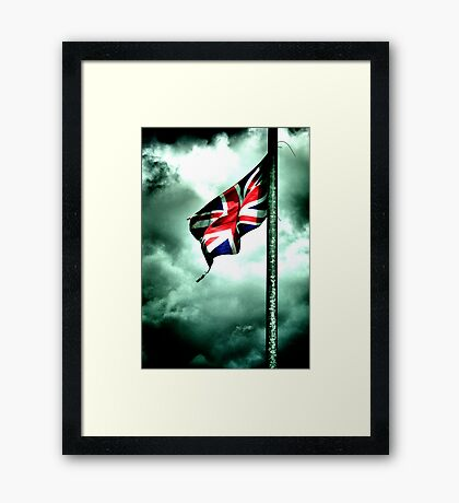 battered and torn ..... GB's old glory !!! Framed Print
