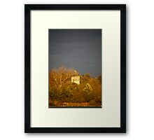 Tower in the Distance Framed Print