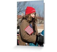 Cold Patriot Greeting Card