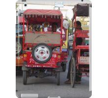 Need a Ride? iPad Case/Skin