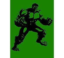 the incredible hulk bruce banner comic book shirt Photographic Print