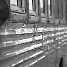 Bus Reflections by BlackHairMoe