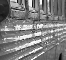 Bus Reflections by BlackHairMoe