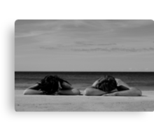 In Homage To Max Dupain - 'Sunbathers #2' Canvas Print