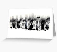 Brushstrokes Greeting Card