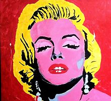 Tribute to Marilyn Monroe by LIVEPAINTER