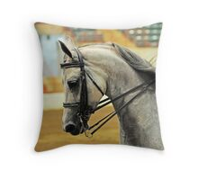 Gray Ghost Throw Pillow