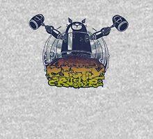 ROBOCAT CITYCRUSHER (multi color) Unisex T-Shirt