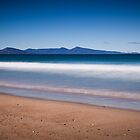 Freycinet Peninsula from Dolphin Sands Beach by Doug Thost