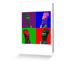 Beaker Pop Greeting Card