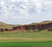 Red Ridge by WILDBRIMOWILDMAN