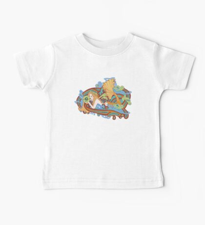 Gaia's Celtic Wave Baby Tee