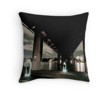 Iron Cove Underbelly Throw Pillow