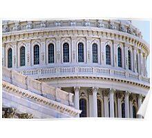 US Capitol Dome, Closeup Poster