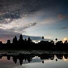 Angkor Wat Sunrise by Doug Thost