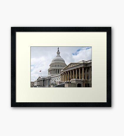 US Capitol, Northeast Framed Print