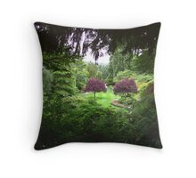 Sunken Garden No.3 Throw Pillow