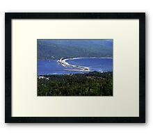Englishtown-Cape Breton Framed Print